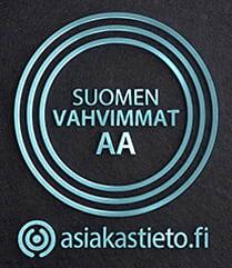 Suomen vahvimmat AA asiakastieto.fi